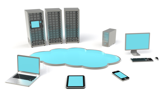 Virtual private servers (VPS) are machines that we hire from hosting companies. We control a VPS from the Internet.