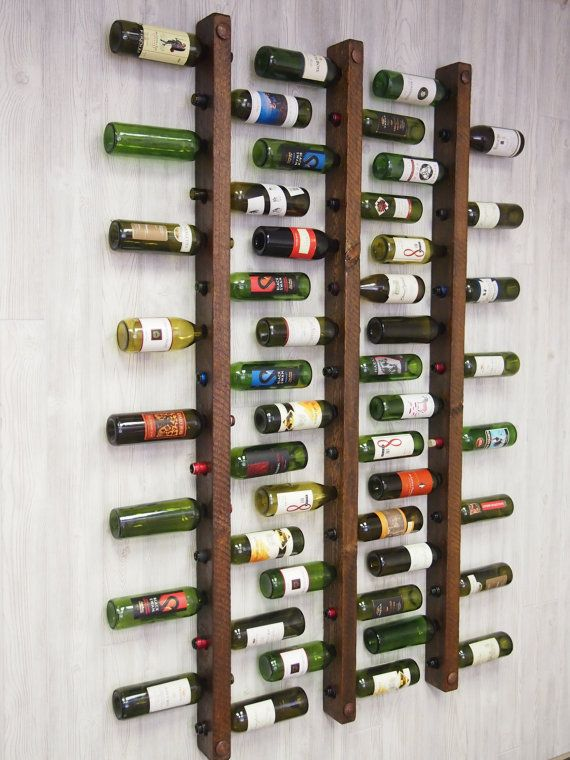 Special rack for wine bottles