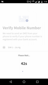 Sending a test SMS to verify phone number